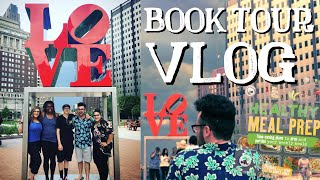 BOOK TOUR VLOG: Day 1 Philly!