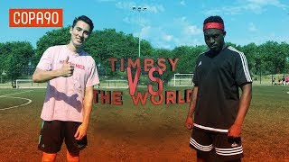 Box-to-Box Challenge vs Stevo The Madman! | Timbsy vs The World