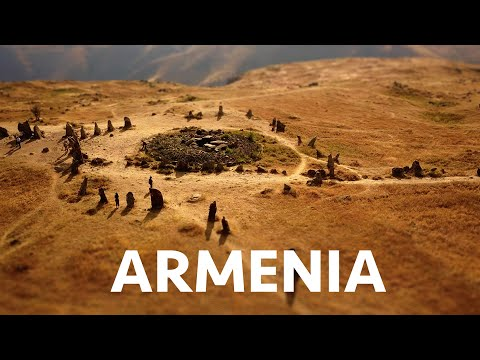 Awesome Armenia (Time Lapse - Tilt Shift - Drone - 4k)