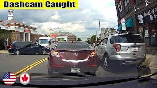 Ultimate North American Cars Driving Fails Compilation - 228 [Dash Cam Caught Video]