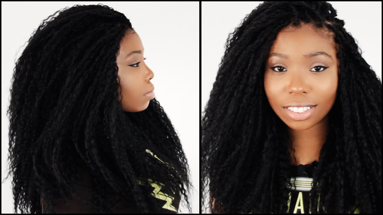 Tree Braids Hairstyle Start To Finish In 4 Minutes