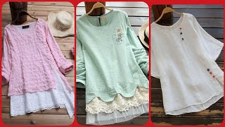 Gorgeous Top Trending Short Tops, Shirts For Girls /Latest Collection of Casual Wear Dresses