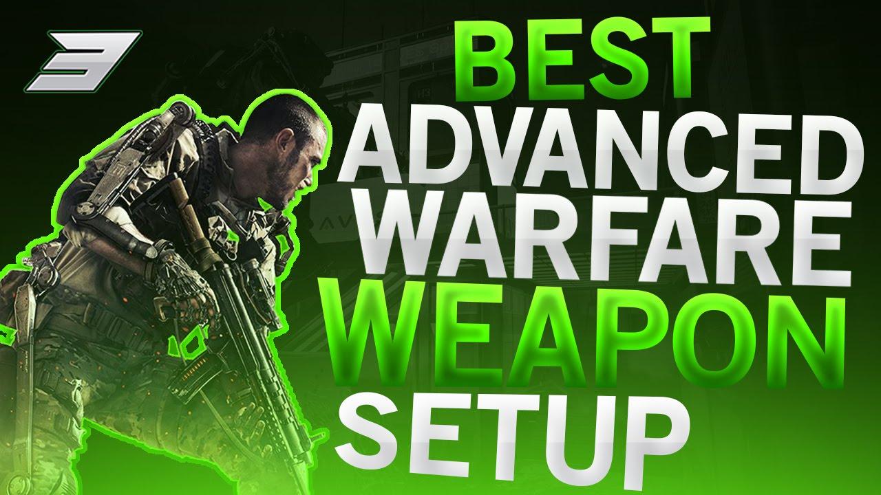 Advanced warfare best weapon setup fast level high kd