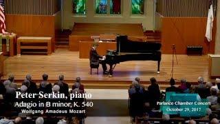 peter serkin piano mozarts adagio in b minor k 540