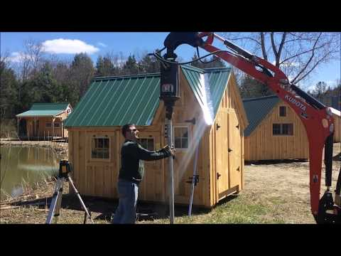 How To Prepare the Foundation for Tiny House - Cottage - Cabin - Garage - Shed - Building