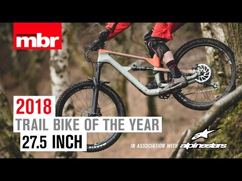 Canyon Spectral CF 8.0 | 27.5in Trail Bike of the Year 2018 | Mountain Bike Rider