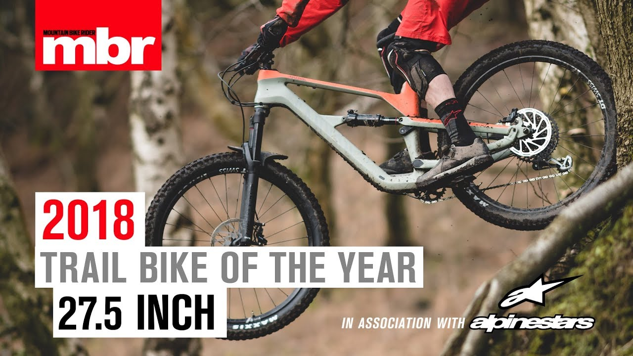 Canyon Spectral CF 8 0 | 27 5in Trail Bike of the Year 2018 | Mountain Bike  Rider