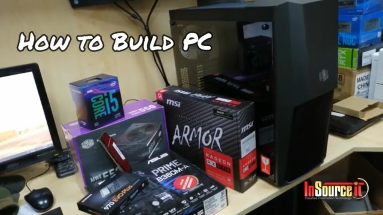 PC Build with Asus Prime B360 Motherboard & Intel Core i5 9400F Processor | 250GB M.2 SSD
