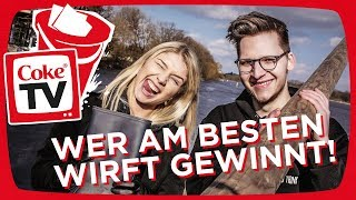 Wurf-Challenge mit Nicole & Klengan   #CokeTVBucketlist