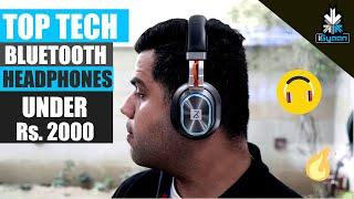 Top Tech - Bluetooth Headphones Under Rs. 2000 ...