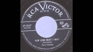 Terry Timmons - How Long Must I Wait -