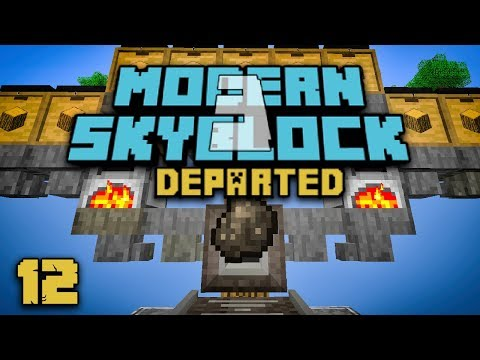 Modern Skyblock 3: Departed EP12 Factory Tech + Ore Doubling
