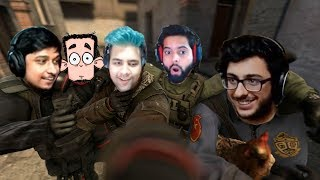 CSGO Funny Moments With Carryminati, Gunshot, Gareebo & Daddy Cool Part 1