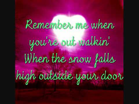 Tim Mcgraw Remember Me with lyrics