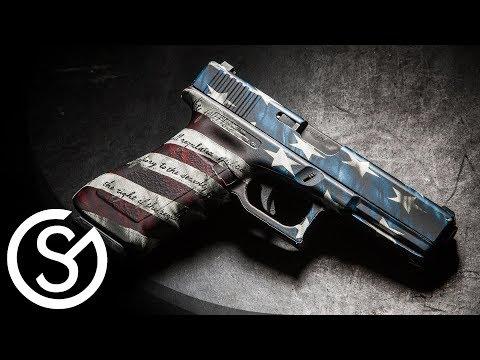 GunSkins Pistol Skin Glock DIY Install Tutorial