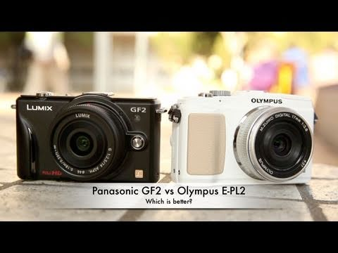 Panasonic GF2 vs Olympus E-PL2 - which is better?