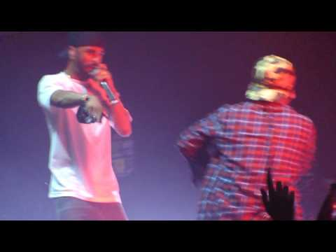 Big Sean & MadeinTYO performs Skateboard P remix live @ I Decided Tour, San Francisco.