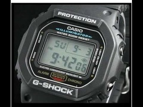 57f7cea10f7 Relógio Casio G-Shock (DW-5600E-1VDF) - YouTube