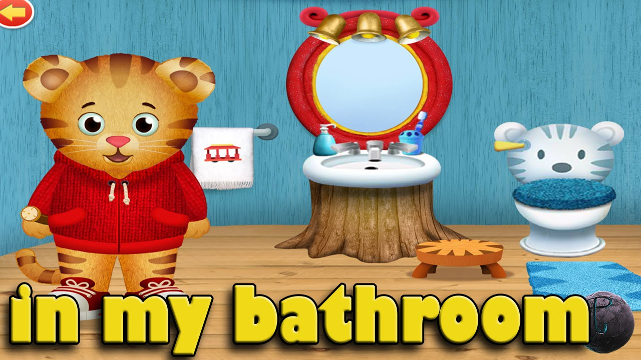 Daniel Tiger S Neighborhood In My Bathroom Pbs Kids