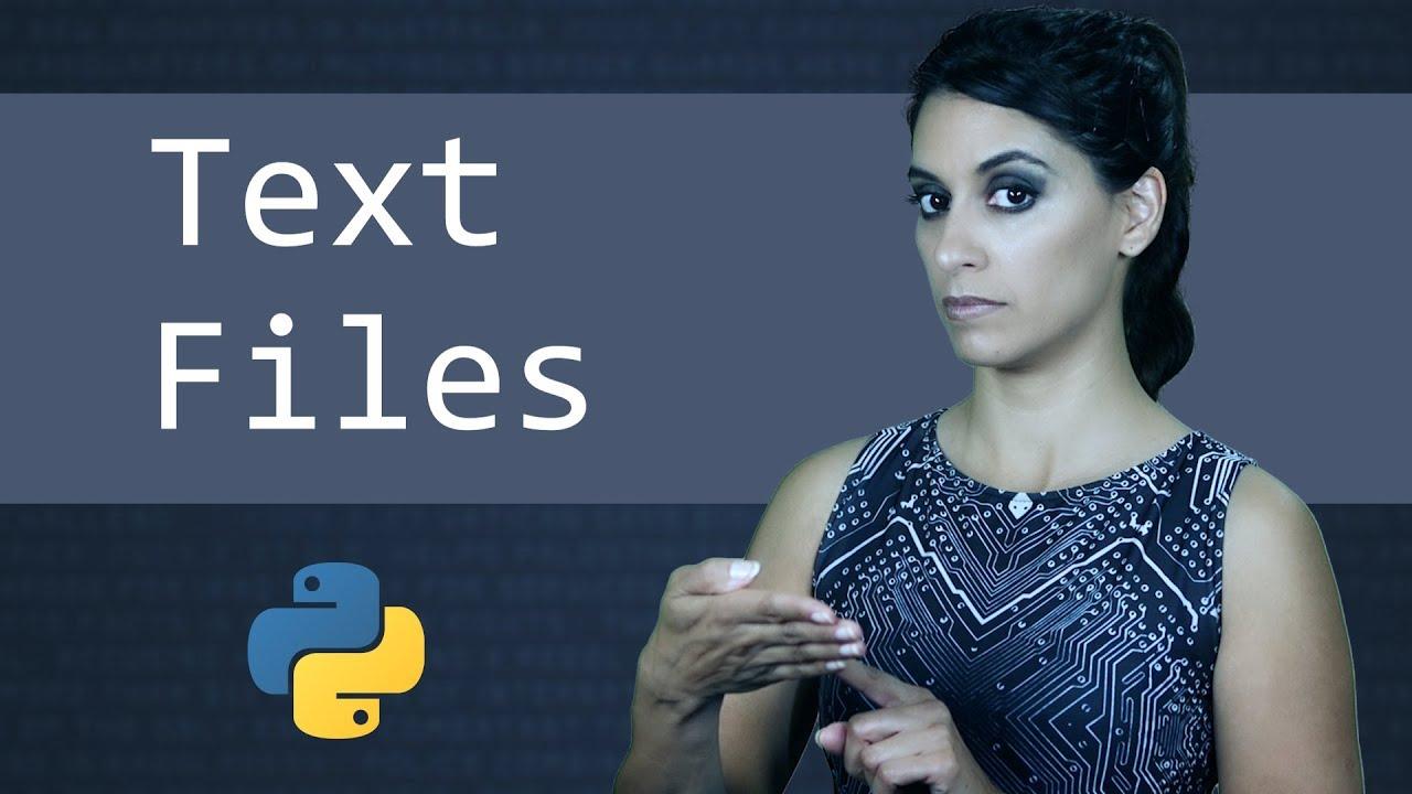 Text Files in Python || Python Tutorial || Learn Python Programming