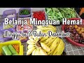Belanja Mingguan Hemat Minggu ke 3 Bulan Desember 2020 | Food preparation | Resti Sitompul