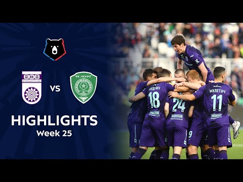 Ufa Akhmat Grozny Goals And Highlights