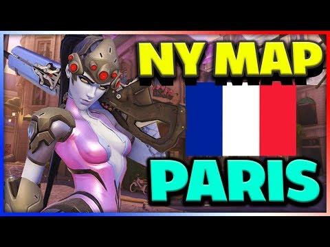 HELT NY MAP - PARIS - Overwatch med Tejbz På Svenska thumbnail