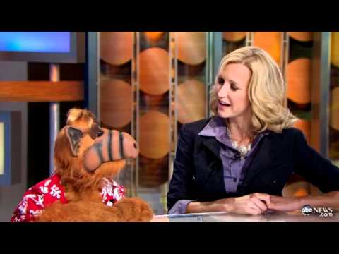 ALF Sits Down, Tries to Behave for 'GMA' Interview (11.07.11)