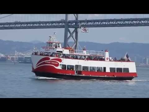 """Harbor Princess"" Ferry Red & White Fleet San Francisco Bay California"
