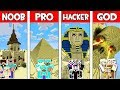 Minecraft NOOB vs PRO vs HACKER vs GOD : FAMILY SAND BASE in Minecraft! Animation