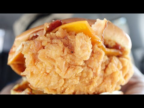 Popeyes BBQ Bacon Cheddar Chicken Sandwich Review
