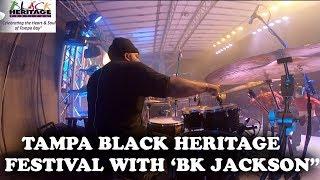 MARCUS THOMAS WITH BK JACKSON | TAMPA BLACK HERITAGE FESTIVAL!