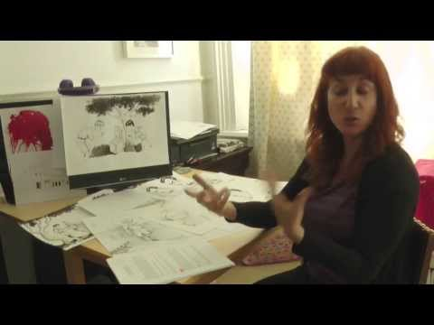 Brighton Graphic Novel: Artist Maria Parra, QueenSpark Books