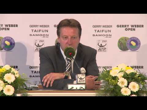 Gerry Weber Open 2014 Abschlusspressekonferenz