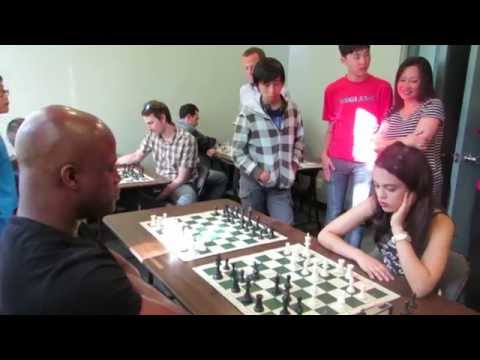 GM Maurice Ashley Visits Vancouver (Ashley Tapp Chess Girl)