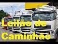 Leilão de Caminhões , Volvo VM 260 6x2r 2008, Mercedes Benz 710, Mercedes Benz Sprinterf, Ford Cargo