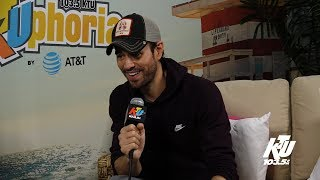 Enrique Iglesias Opens Up About Life as a New Father at KTUphoria