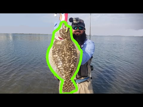 Flounder Run Corpus Christi | PB Flounder On AM Fishing Lures