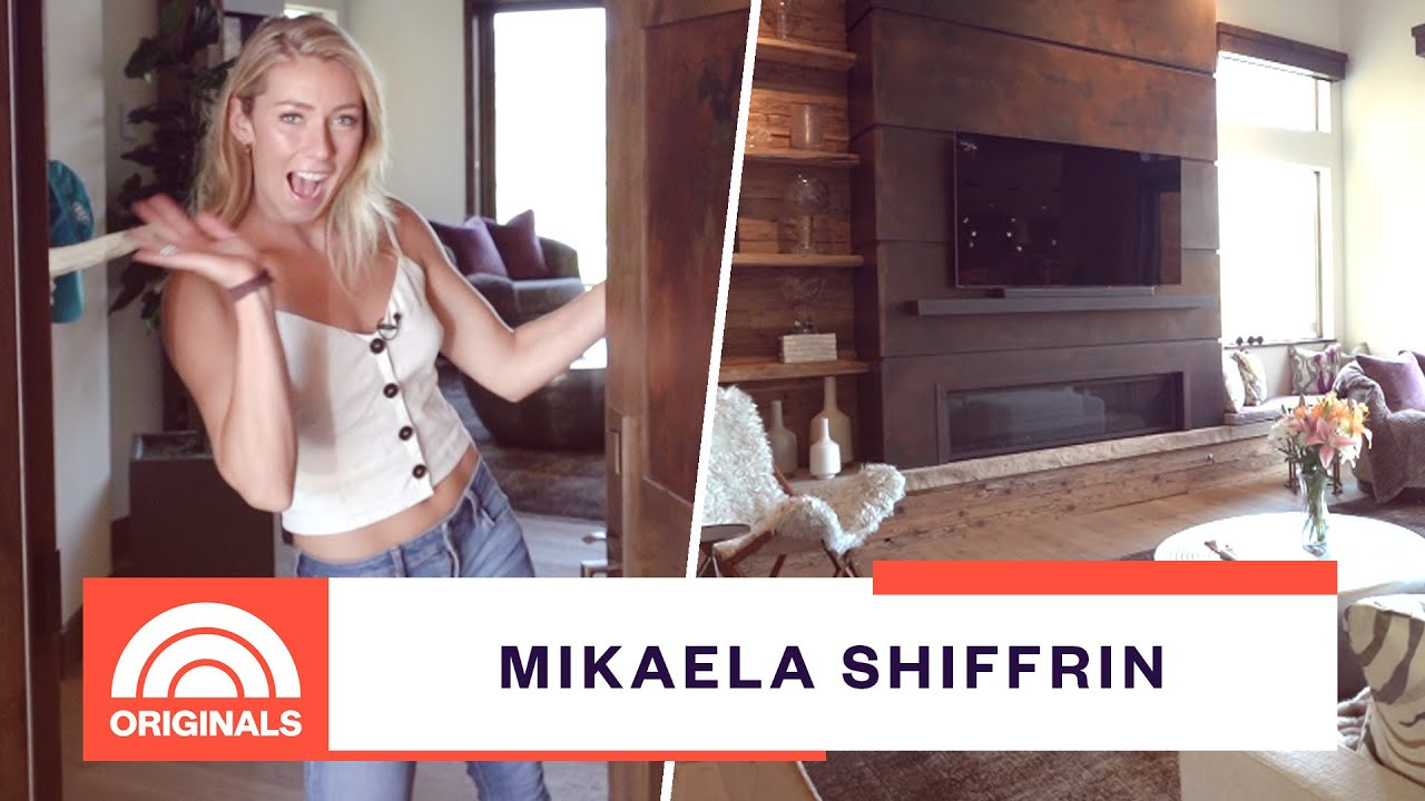 Olympic Ski Champion Mikaela Shiffrin's New Home & All Her Gold Medals   At Home With Natal