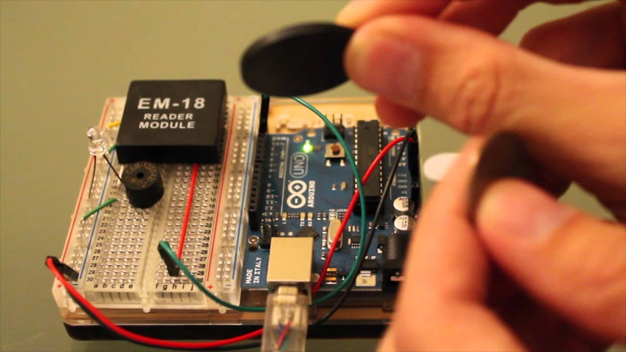 How-to Use Rfid Em-18 With Arduino Uno