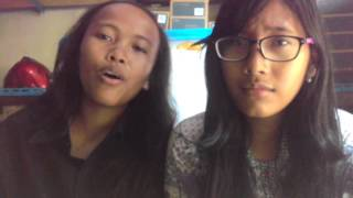 #ReSanVLOG - #song #cover #justforfun #with #sandra #ditempat #PKL