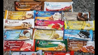 Quest Protein Bar Haul