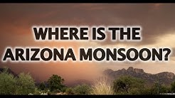 When is Phoenix Arizona Monsoon Season?