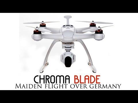 Chroma first flight in Leipzig , Germany- GoPro Hero 4 Silver edition