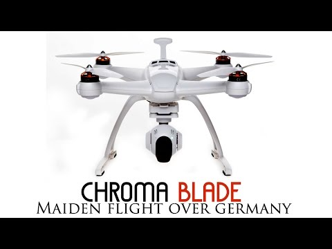 Chroma first flight in Leipzig , Germany- GoPro Hero 4 Silver edition