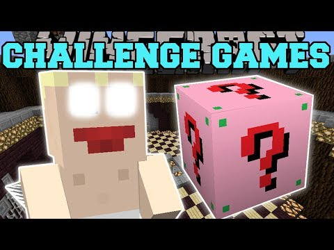 Minecraft: CUPID CHALLENGE GAMES  Lucky Block Mod  Modded MiniGame