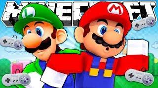 Если бы Nintendo захватил Майнкрафт | Майнкрафт машинима