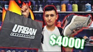 $4000 SNEAKERS! HYPEBEAST SNEAKER SHOPPING! l SneakerTalk