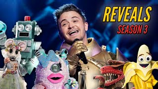 Every Masked Singer Reveal This Season - @The Masked Singer