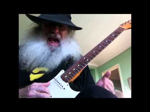 Thumbnail: Slide Guitar Blues Lesson - How to play the blues in open D Tuning On My 1988 Stratocaster!